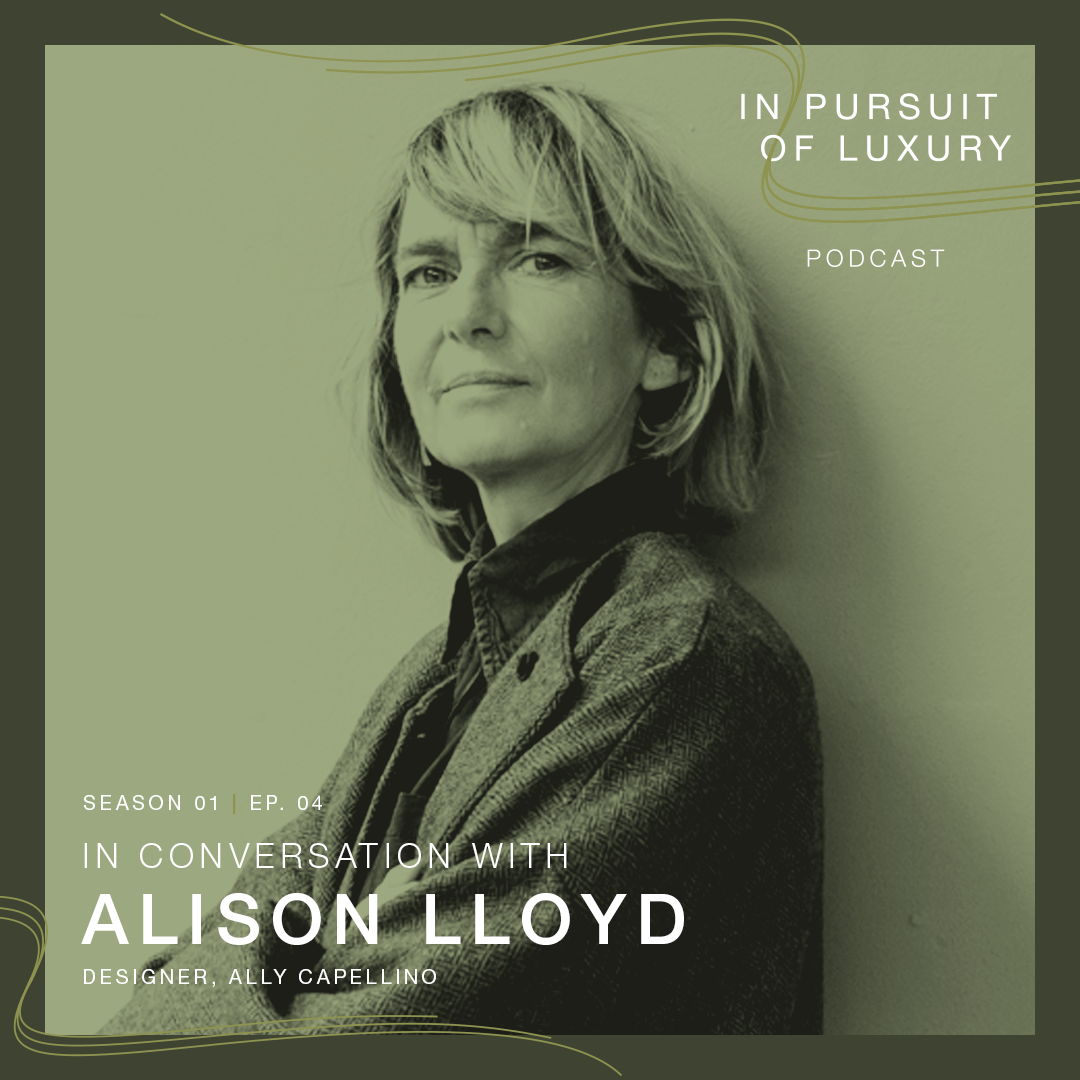 In conversation with Alison Lloyd
