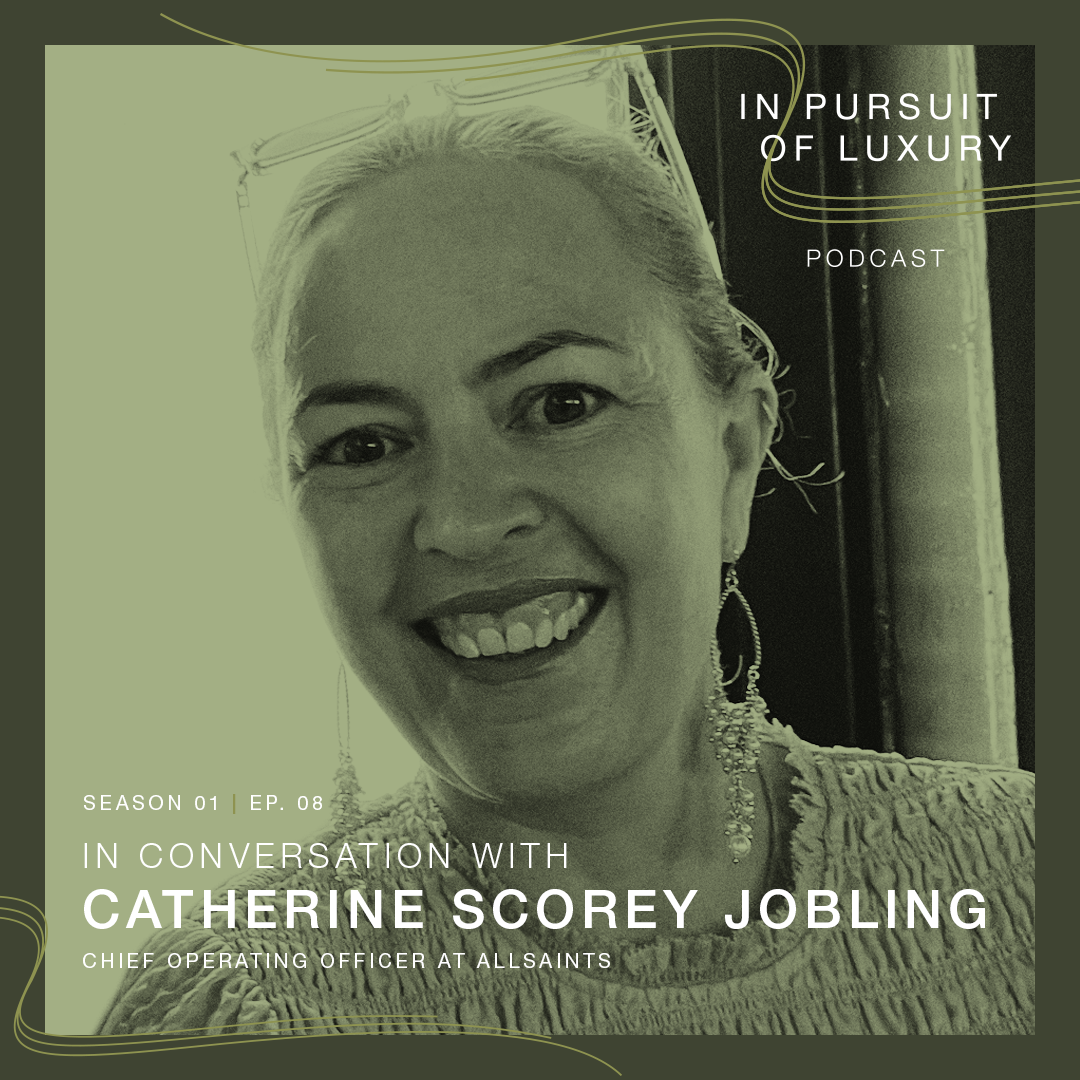 In conversation with Catherine Scorey Jobling