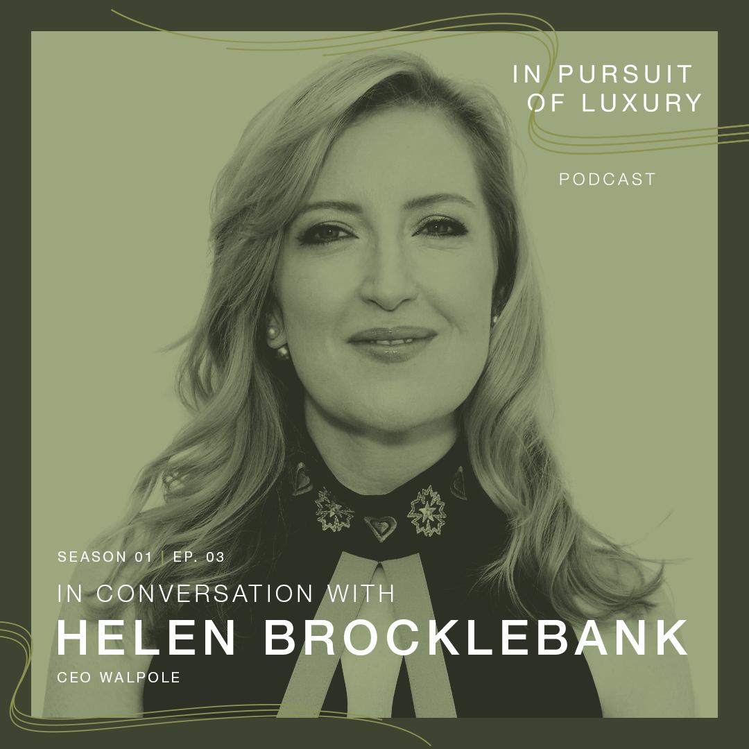 In conversation with Helen Brocklebank