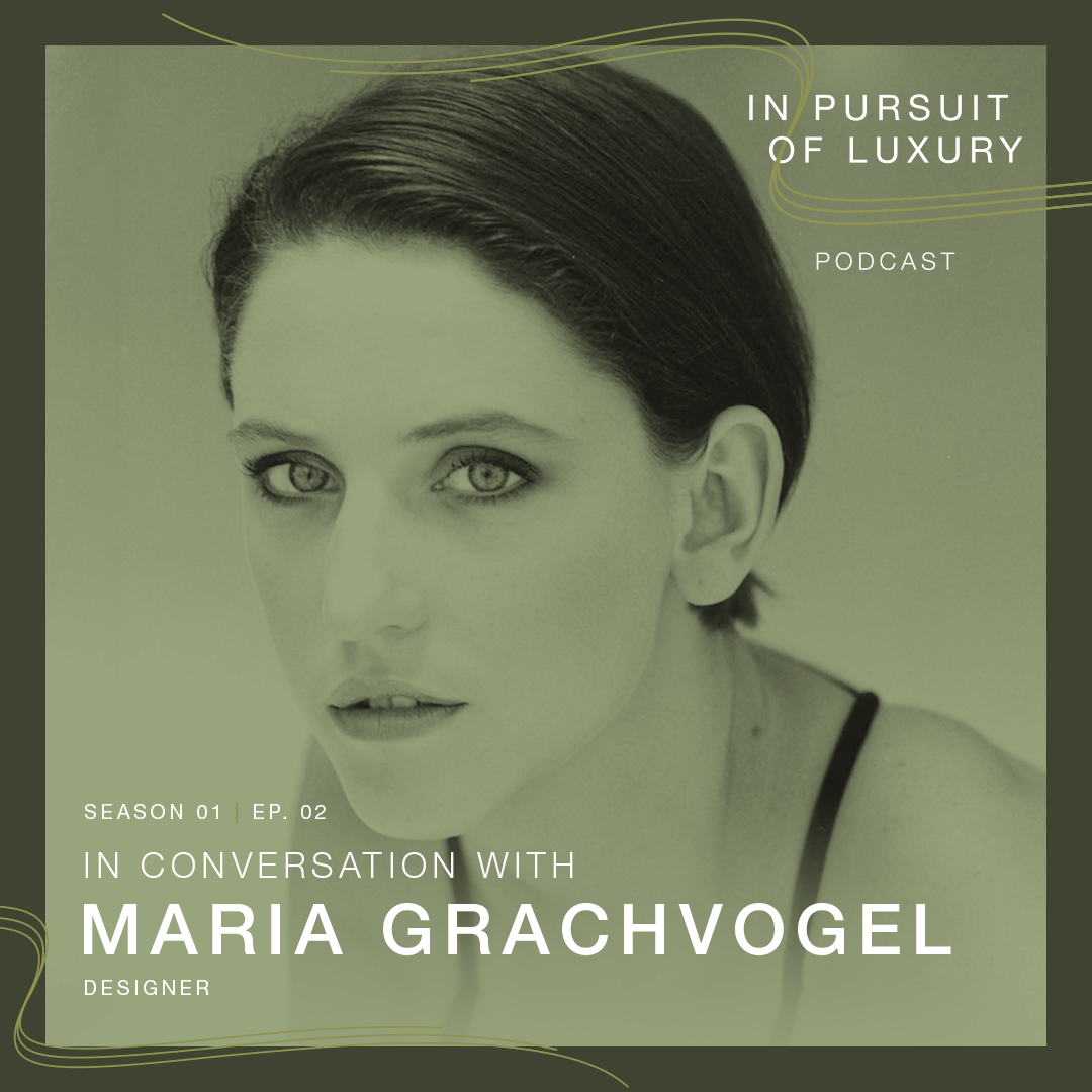 In conversation with Maria Grachvogel