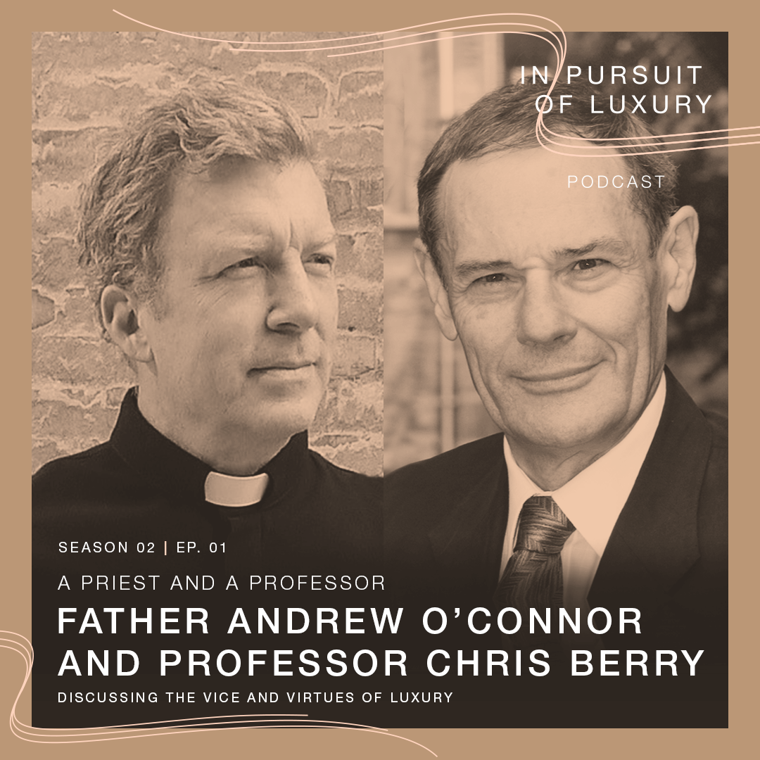 In conversation with Father Andrew O'Connor & Christopher J. Berry