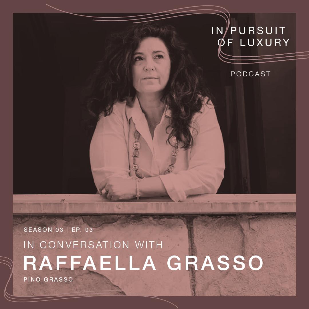 In conversation with Raffaella Grasso