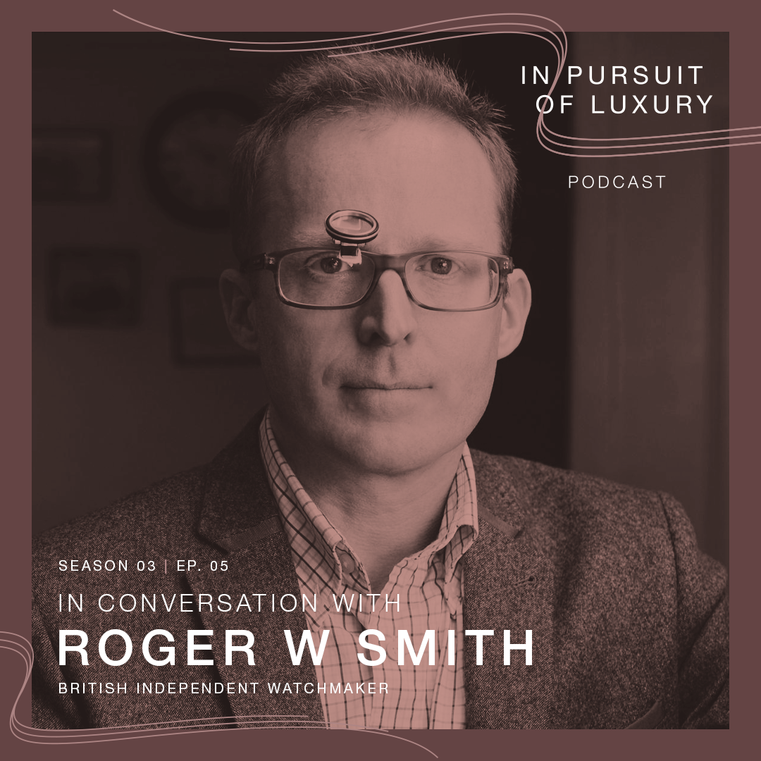 In conversation with Roger Smith