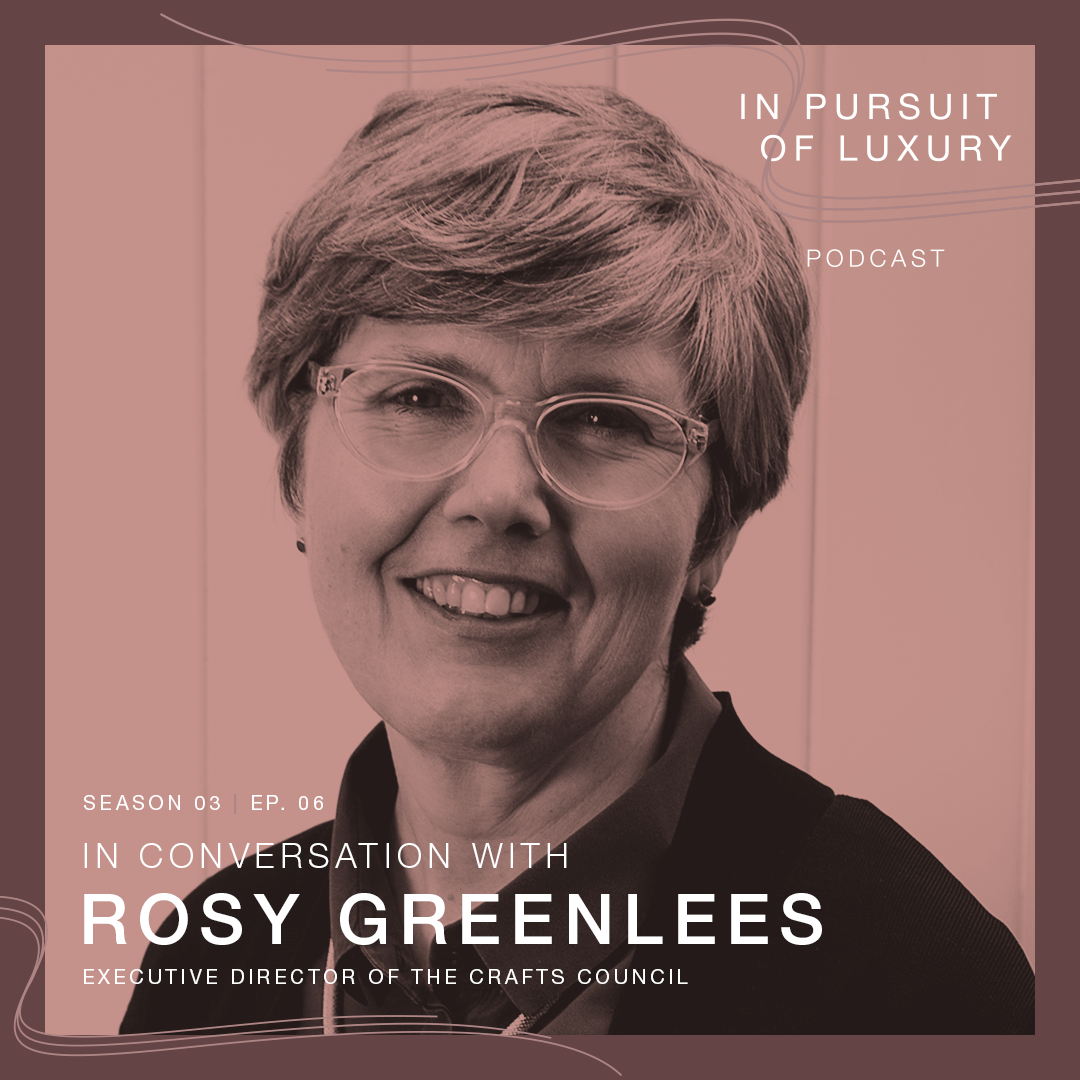 In conversation with Rosy Greenlees OBE